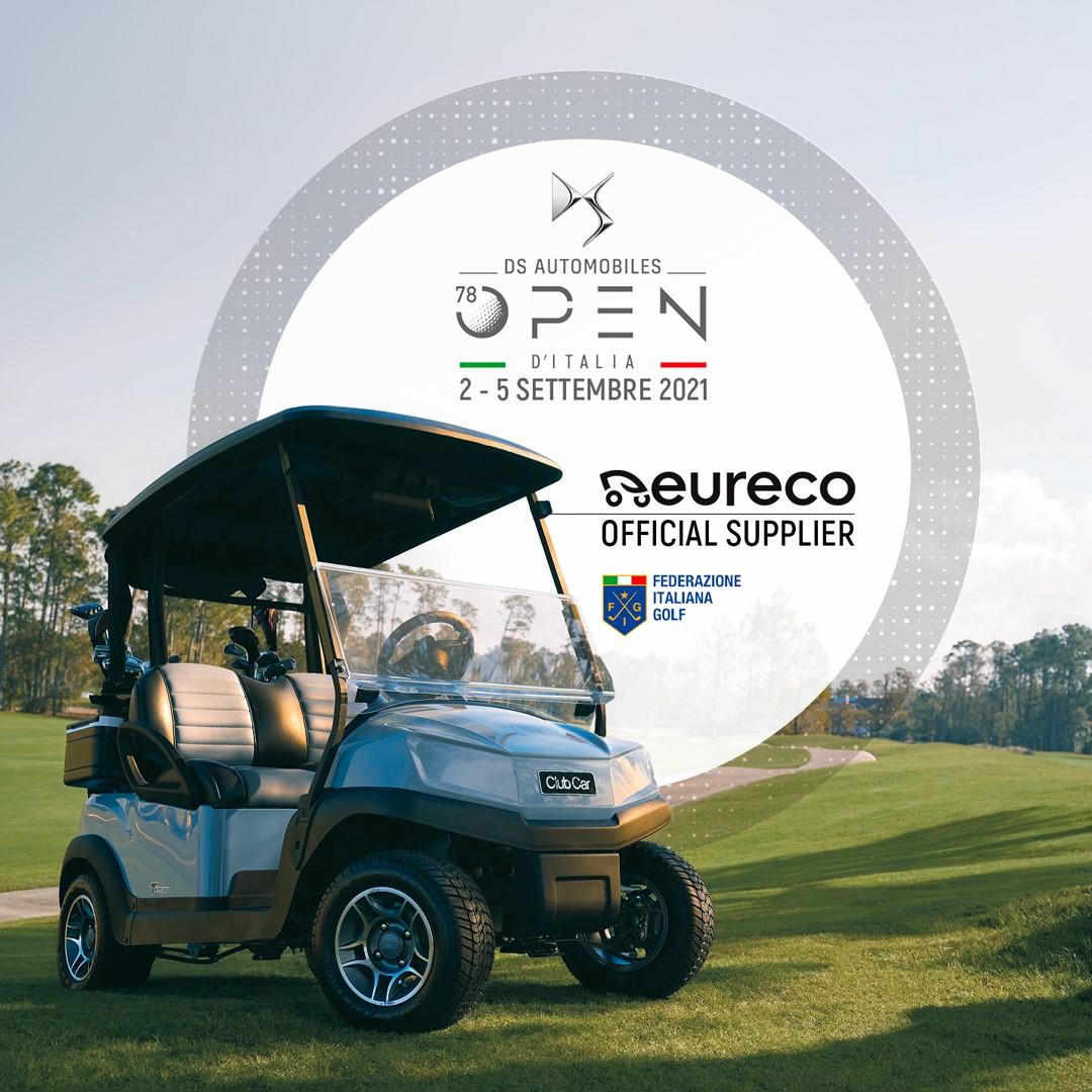 Eureco, Official Supplier del 78° OPEN D'ITALIA